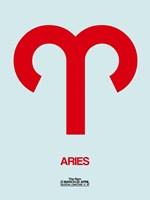 Aries Zodiac Sign Red Fine-Art Print