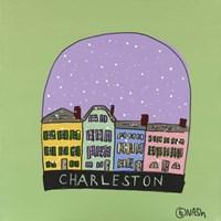 Charleston Snow Globe Fine-Art Print