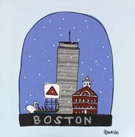 Boston Snow Globe Fine-Art Print