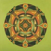 Autumn Mandala Fine-Art Print