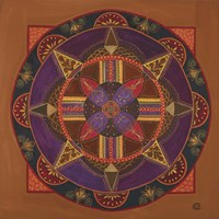 Heart And Soul Mandala Fine-Art Print