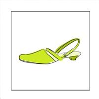 Green Sandal 1 Fine-Art Print