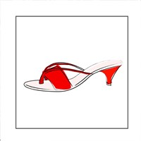 Red Sandal Fine-Art Print