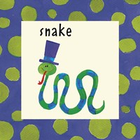 Snake with Border Fine-Art Print