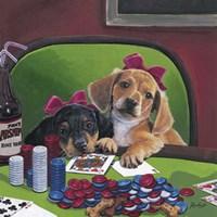 Poker Dogs 3 Fine-Art Print