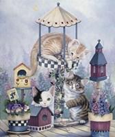 Cat Carousel Fine-Art Print