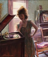 Phonograph Days Fine-Art Print