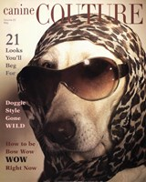 Canine Couture Bow Wow Fine-Art Print