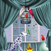 Bird Dogs VIII Fine-Art Print