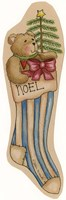 Noel Stocking Fine-Art Print