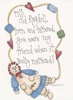 My Old Ragdoll Fine-Art Print