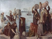 Women Drawing Water from the Nile Fine-Art Print