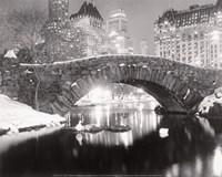 Snowfall In Central Park Fine-Art Print