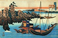 Chinese Fishermen in their Boats Fine-Art Print