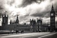 Houses of Parliament B/W Fine-Art Print