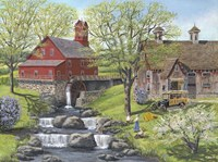 Picnic at the Mill Fine-Art Print