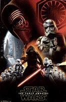 Star Wars 7 TFA - Dark Side Fine-Art Print