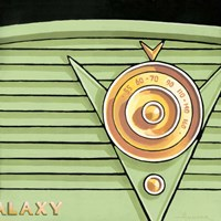 Galaxy Radio - Green Fine-Art Print