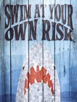 Swim at Your Own Risk Fine-Art Print