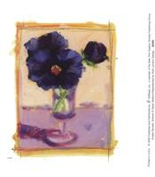 Purple Pansies Fine-Art Print