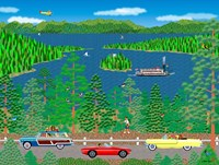Cruising Lake Tahoe Fine-Art Print