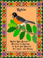 Robin Quilt Fine-Art Print