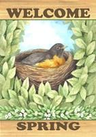 Welcome Spring Robin Fine-Art Print