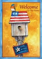 Blue Bird American Welcome Fine-Art Print