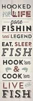 Fishing Typography Fine-Art Print