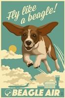 Fly Like a Beagle Fine-Art Print