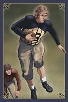 Vintage Football 3 Fine-Art Print
