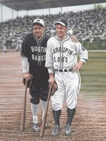 Babe Ruth and Lou Gehrig Fine-Art Print