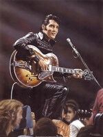 Elvis in Leather Fine-Art Print