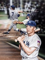 Mickey Mantle The Mick. Fine-Art Print