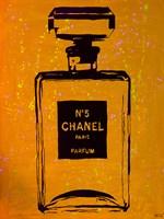 Chanel Pop Art Orange Chic Fine-Art Print