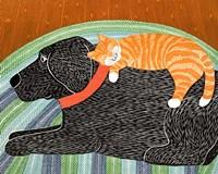 Catnap Striped no Bubble Fine-Art Print