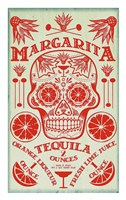 Margarita Recipe Fine-Art Print
