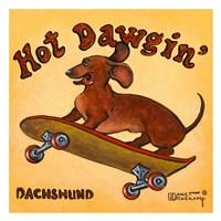 Hot Dowgin' Fine-Art Print