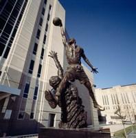 Michael Jordan Statue, United Center, Chicago Fine-Art Print
