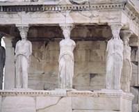 Temple of Athena Nike Erectheum Acropolis, Athens, Greece Fine-Art Print