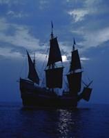 Replica of Mayflower II Fine-Art Print