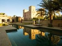 Dar Ahlam Kasbah a Relais and Chateaux Hotel, Souss-Massa-Draa, Morocco Fine-Art Print