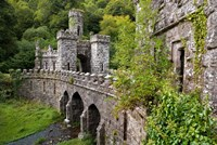 Ballysaggartmore Towers, Lismore, County Waterford, Ireland Fine-Art Print