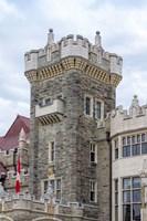 Tower on Casa Loma Castle, Toronto, Ontario, Canada Fine-Art Print