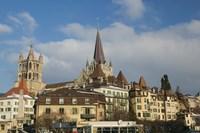 Cathedral, Lausanne, Switzerland Fine-Art Print