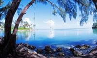 Rope Swing Over Water, Florida Keys Fine-Art Print