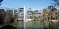 Palacio De Cristal, Madrid, Spain Fine-Art Print