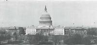 US Capitol, Washington DC, 1916 Fine-Art Print