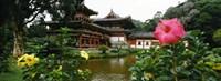 Buddhist Temple, Byodo-in Temple, Koolau Range, Oahu, Hawaii Fine-Art Print