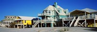 Beach Front Houses, Gulf Shores, Baldwin County, Alabama Fine-Art Print